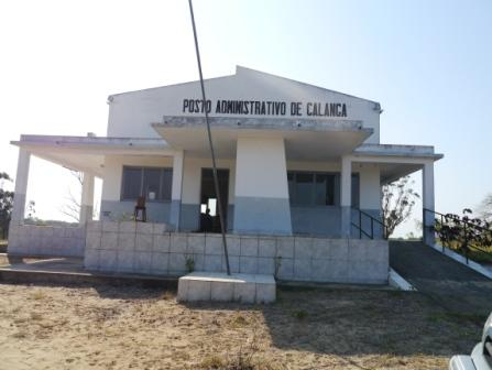 Health centre in Mozambique